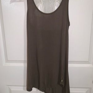 True religion Tank with lace back size xs